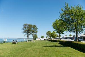Camping direkt an der Ostseeküste