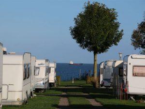 Camping an der Kieler Förde
